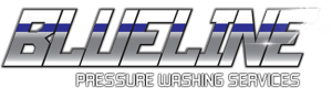 Blueline Pressure Washing Logo
